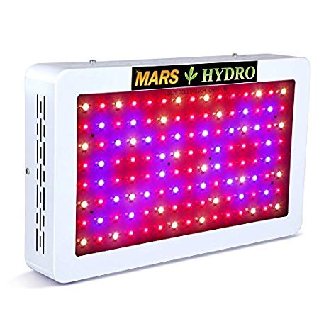 MARS HYDRO Pro II Cree 1200W Led Grow Light Full Spectrum Review