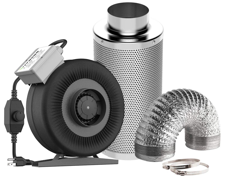VIVOSUN Air Filtration Kit
