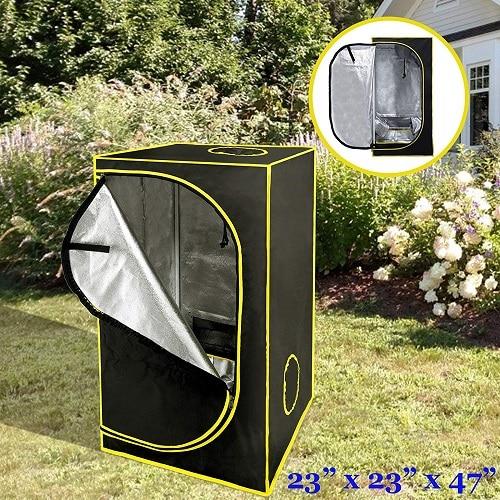Voilamart Hydroponic Grow Tent, 23″ x 23″ x 47″