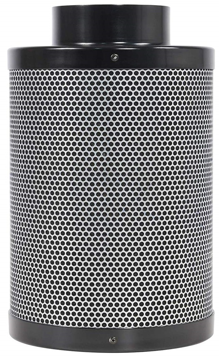 BloomGrow 4″ 6″ 8″ Activated Carbon Air Filter for Grow Tent Kit and Hydroponic Growing System