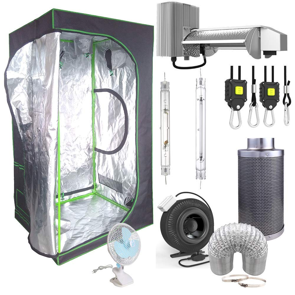 S and W Hydroponic Mylar Grow Tent Kit