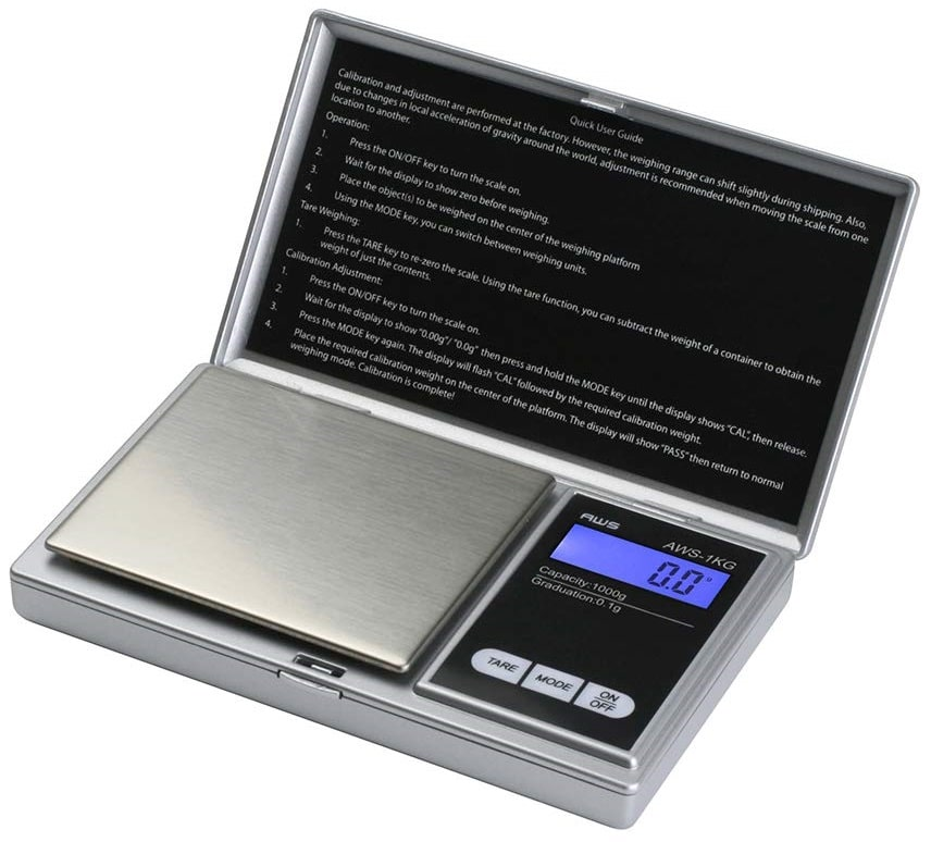 American Weigh Scales Signature Series Silver