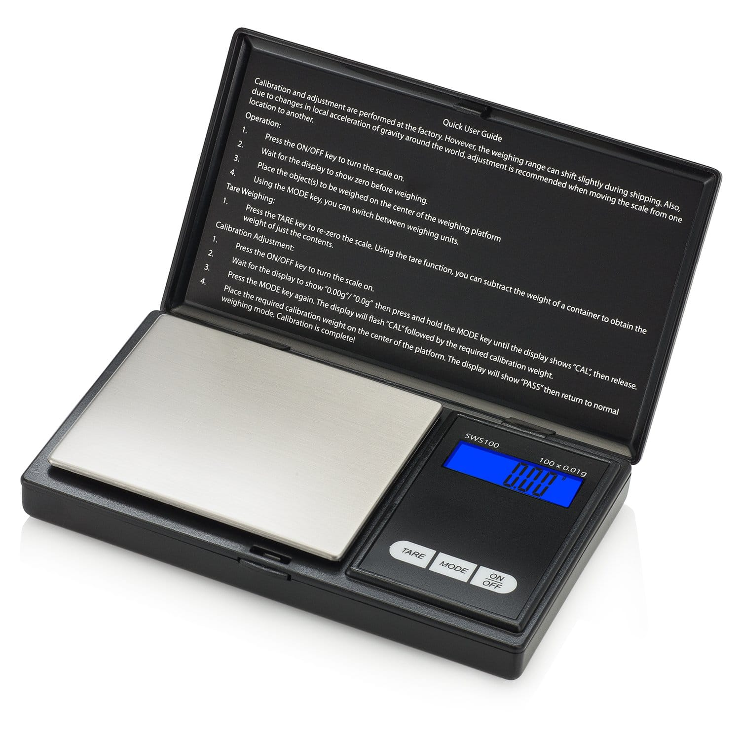 Smart Weigh SW100 Elite Digital Pocket Gram Scale