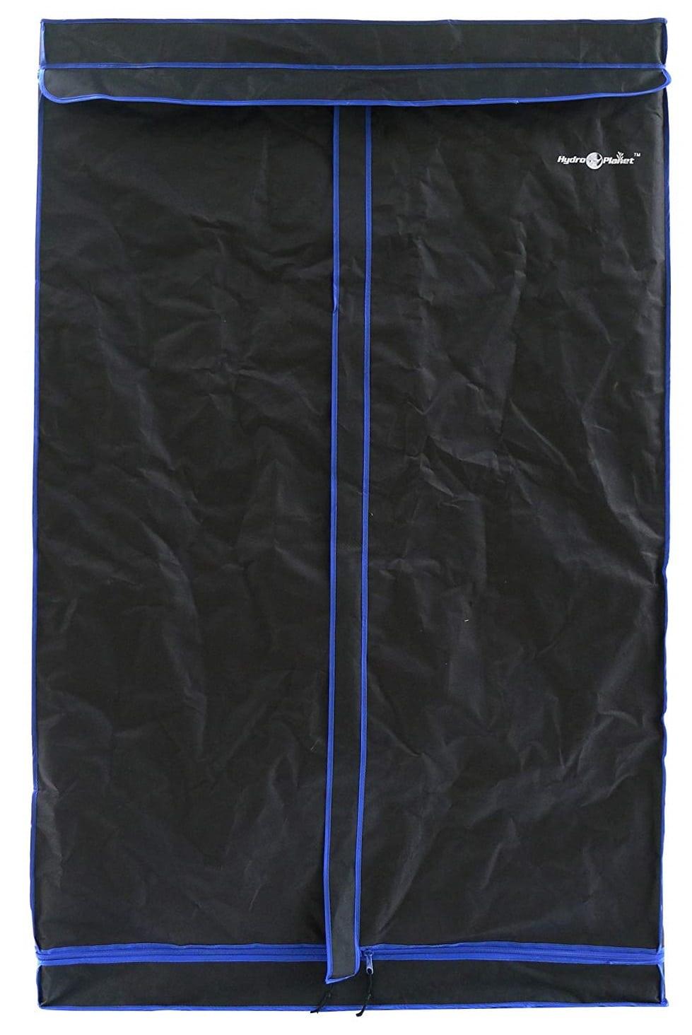 Hydroplanet 48″x48″x80″ Hydroponic Mylar 600D Grow Tent