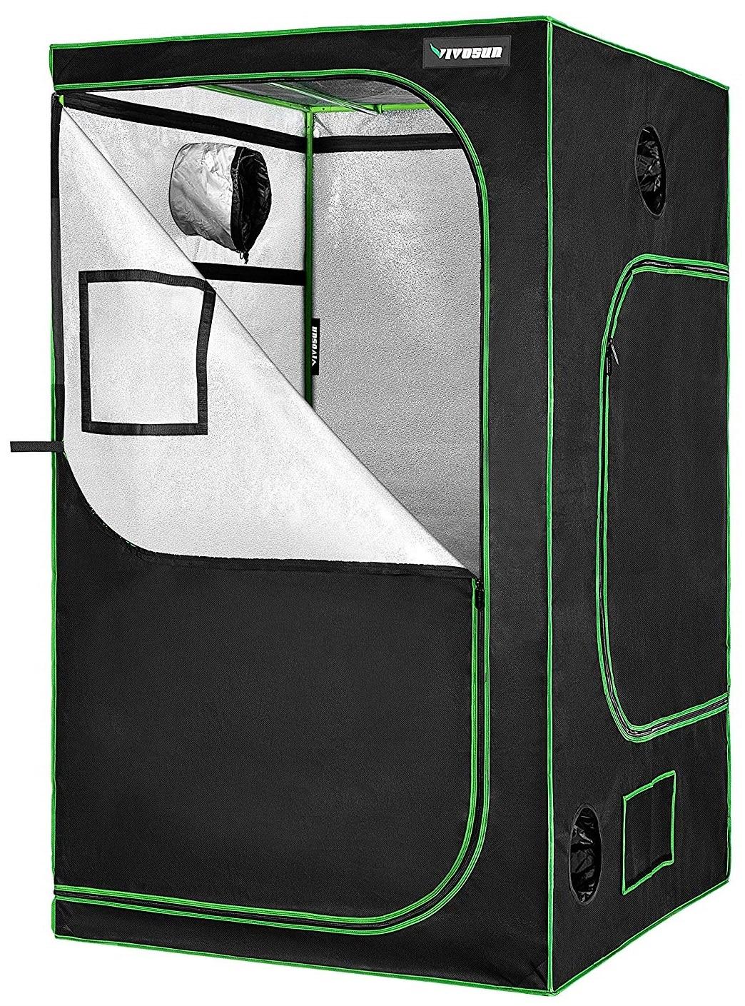 Vivosun 48″x48″x80″ Hydroponics Mylar Grow Tent
