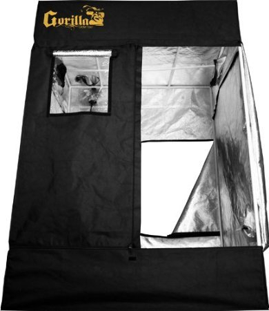 Gorilla 120″x120″ or 10'x10′ GGT1010 Indoor Hydroponic Grow Tent Review 1680D