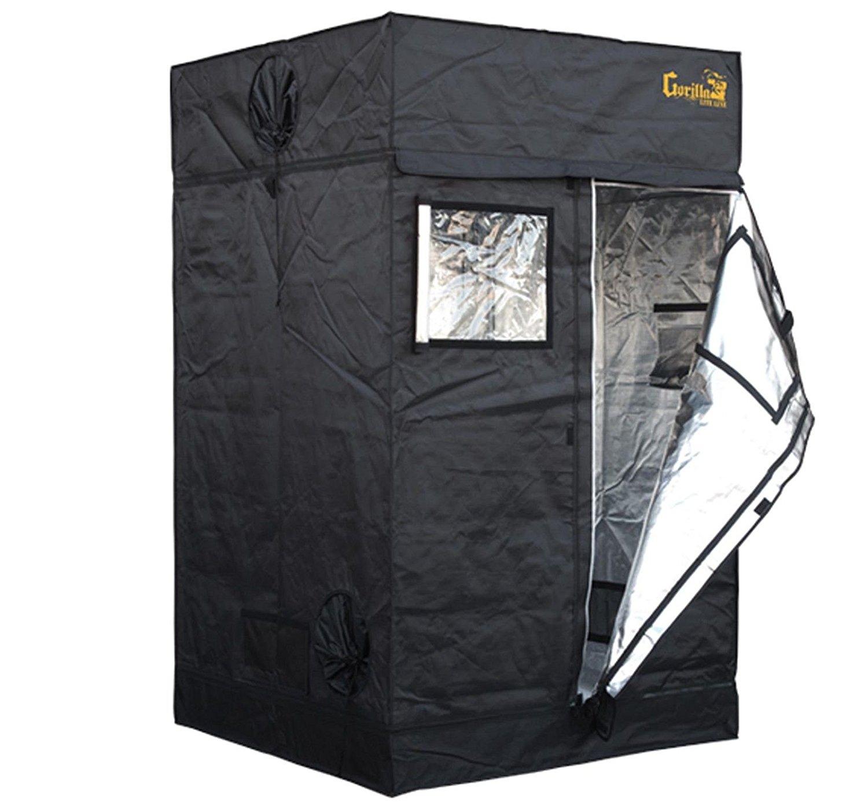 Gorilla 48″x48″ or 4'x4′ Adjustable Indoor Hydroponic Grow Tent Review 1680D