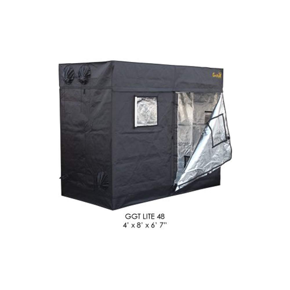 Gorilla 48″x96″ or 4'x8′ LTGGT48 Adjustable Indoor Hydroponic Grow Tent Review 1680D