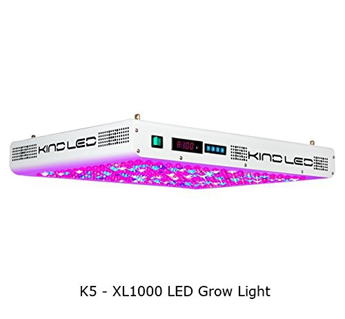 Kind K5 XL1000 1000W LED Grow Light Full Spectrum Control Review
