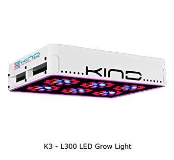 Kind K3 L300 300W LED Grow Light Hydroponic Full Spectrum Review