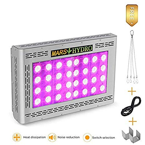 MARS HYDRO Led Grow Light 800W PRO II Epistar Full Spectrum Review