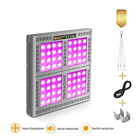 MARS HYDRO Led Grow Light 1600W PRO II Epistar Full Spectrum Review