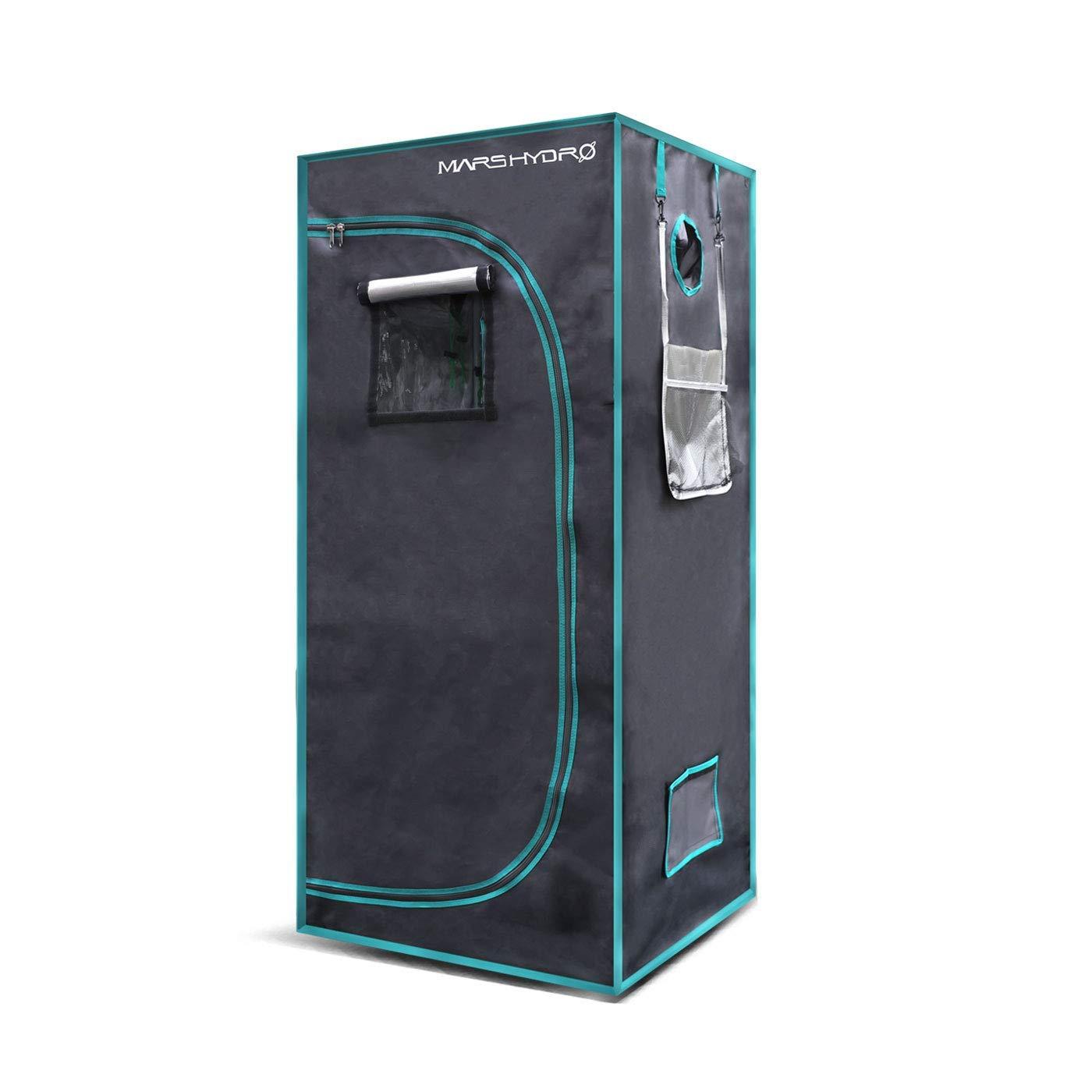 MarsHydro Grow Tent 27″x27″x63″ Indoor Mylar Hydroponic 1680D Review