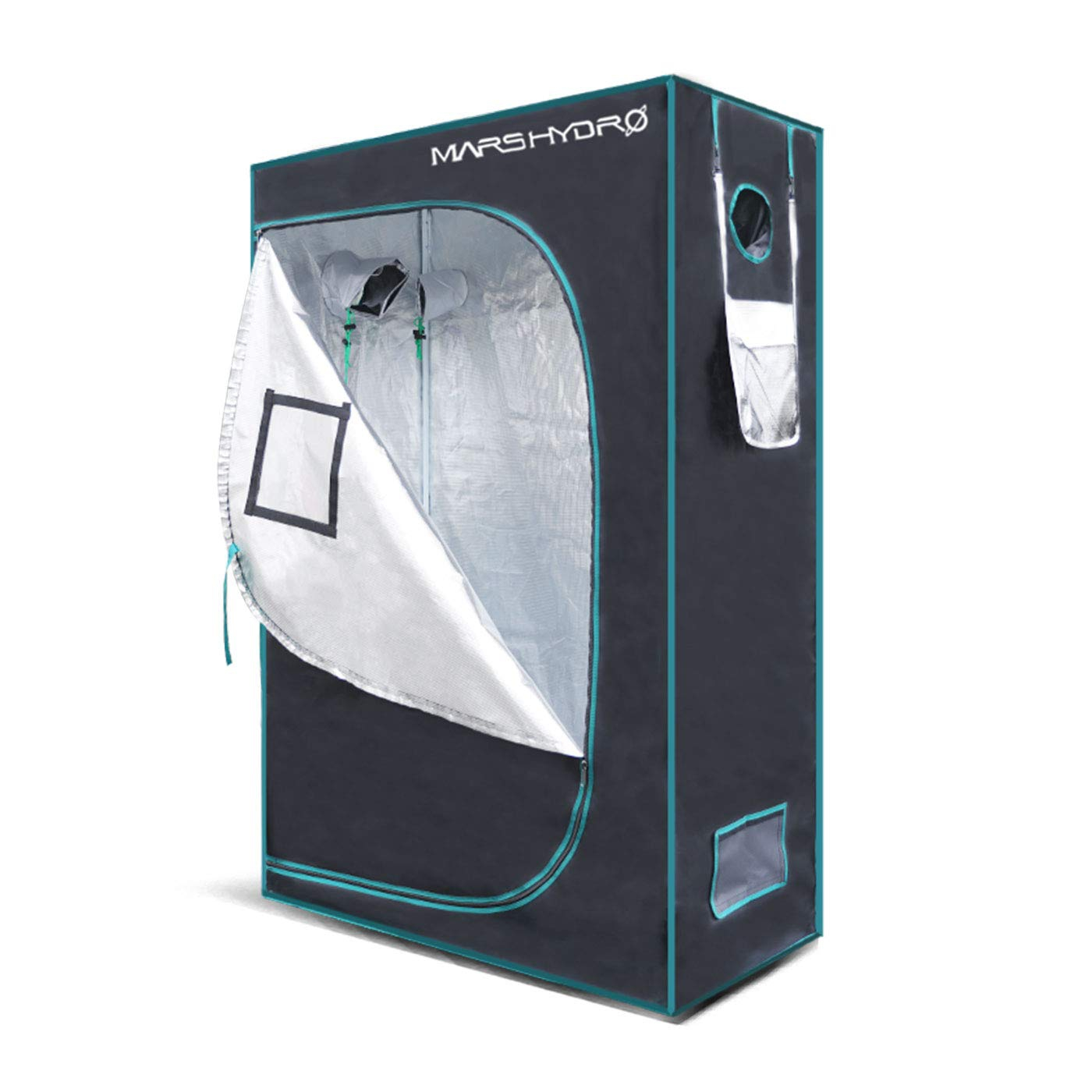 MarsHydro Grow Tent 48x24x70 or 4x2x5.8 Indoor Mylar Hydroponic 1680D Review