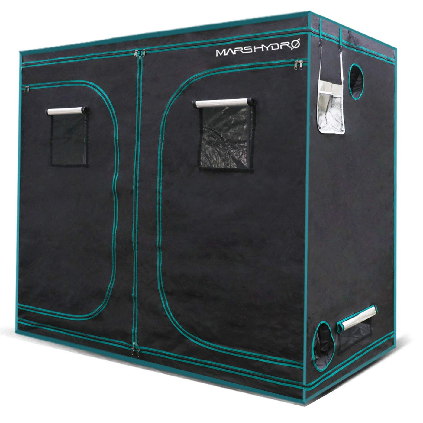 MarsHydro Grow Tent 96″x48″x72″ or 8'x4'x6′ Indoor Mylar Hydroponic 1680D Review