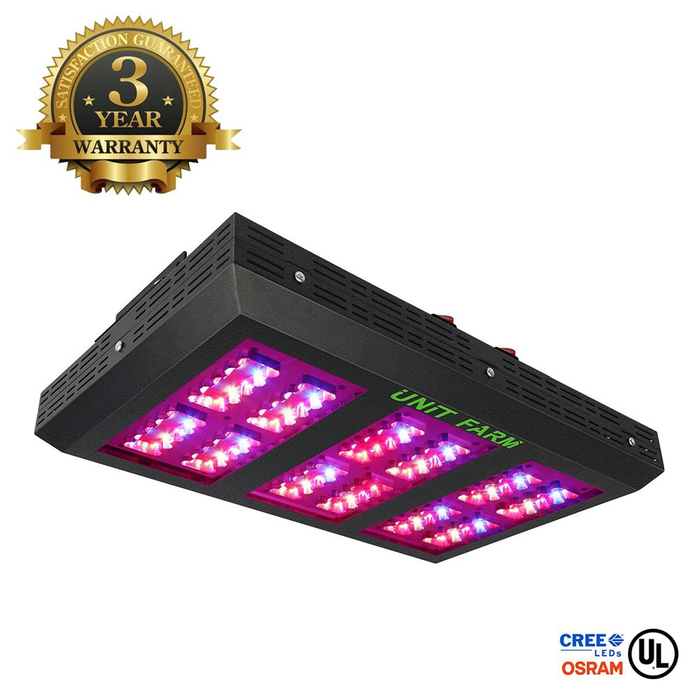 Unit Farm UFO 120 LED Grow Light Full Spectrum 270W Review Coupon